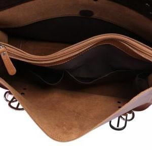 High Quality Leather Messenger Bag ..