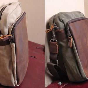 Canvas Bag Canvas Messenger Bag Lei..