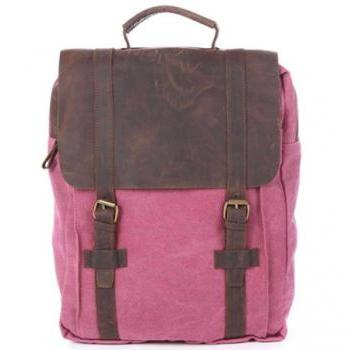 Rose/ blue Canvas Backpack School Canvas Backpacks Student Canvas Backpack 15''macbook pro/air bags Packsacks